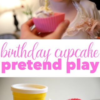 Birthday Cupcake Pretend Play