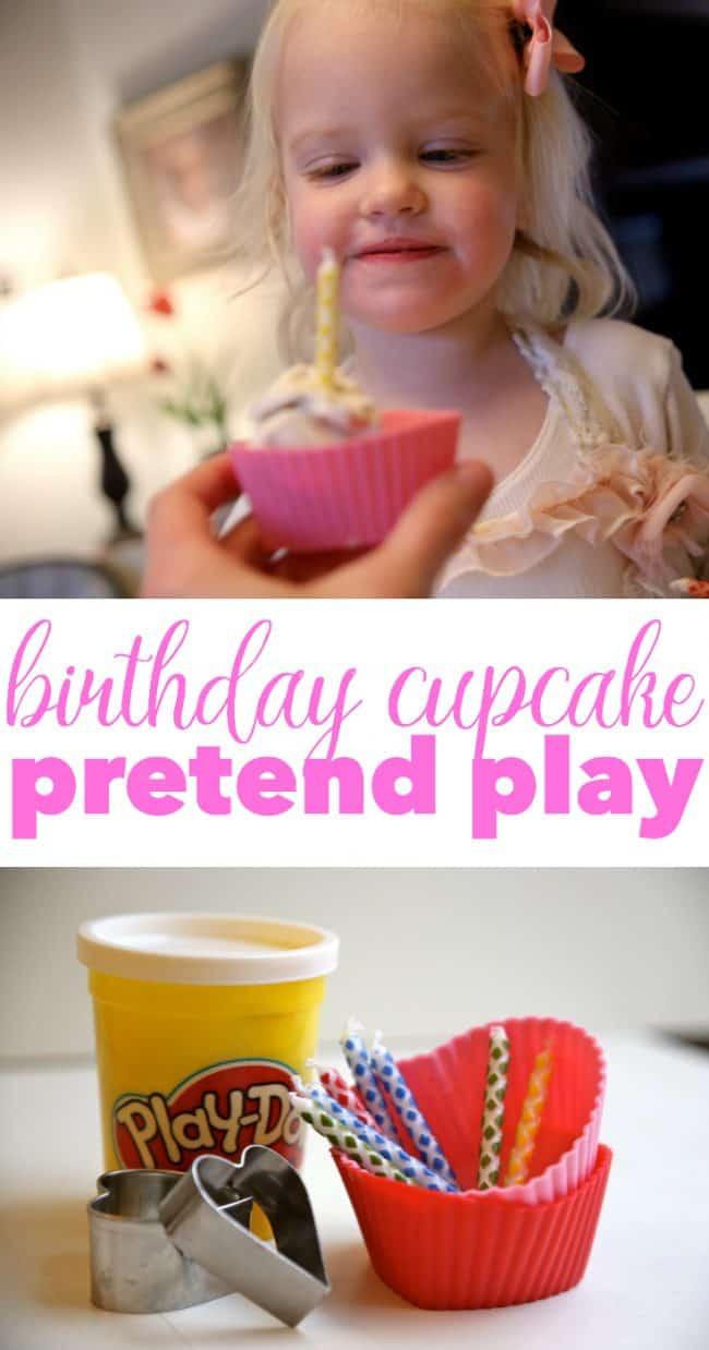 Birthday Cupcake Pretend Play