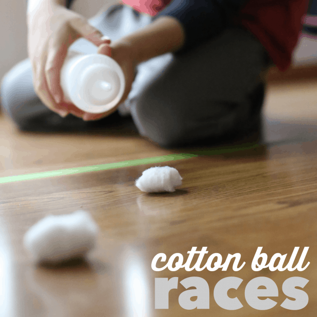 Cotton Ball Races square