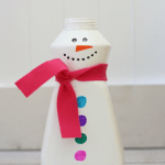 Fill the Snowman Fine Motor Game for Toddlers