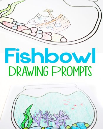 Free Printable Fishbowl Drawing Prompts
