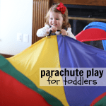 Fun with Parachutes for Toddlers