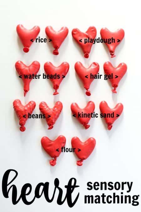 Heart Sensory Matching