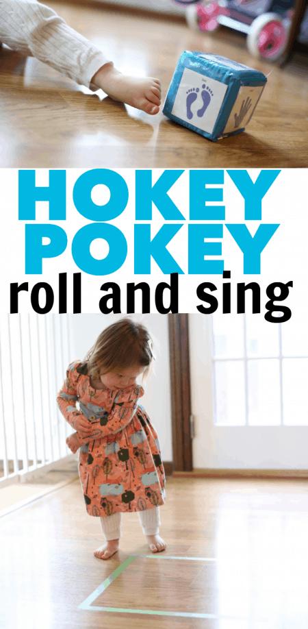 Hokey Pokey Roll & Sing