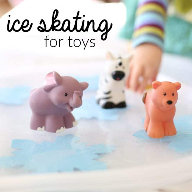 Ice Skating for Toys