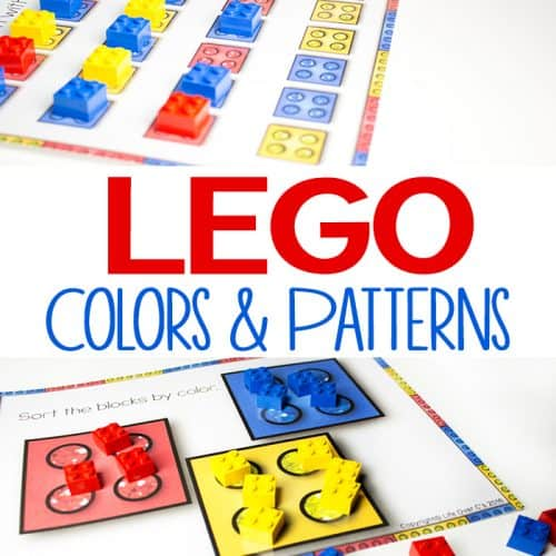 LEGO Printables for Colors and Patterns