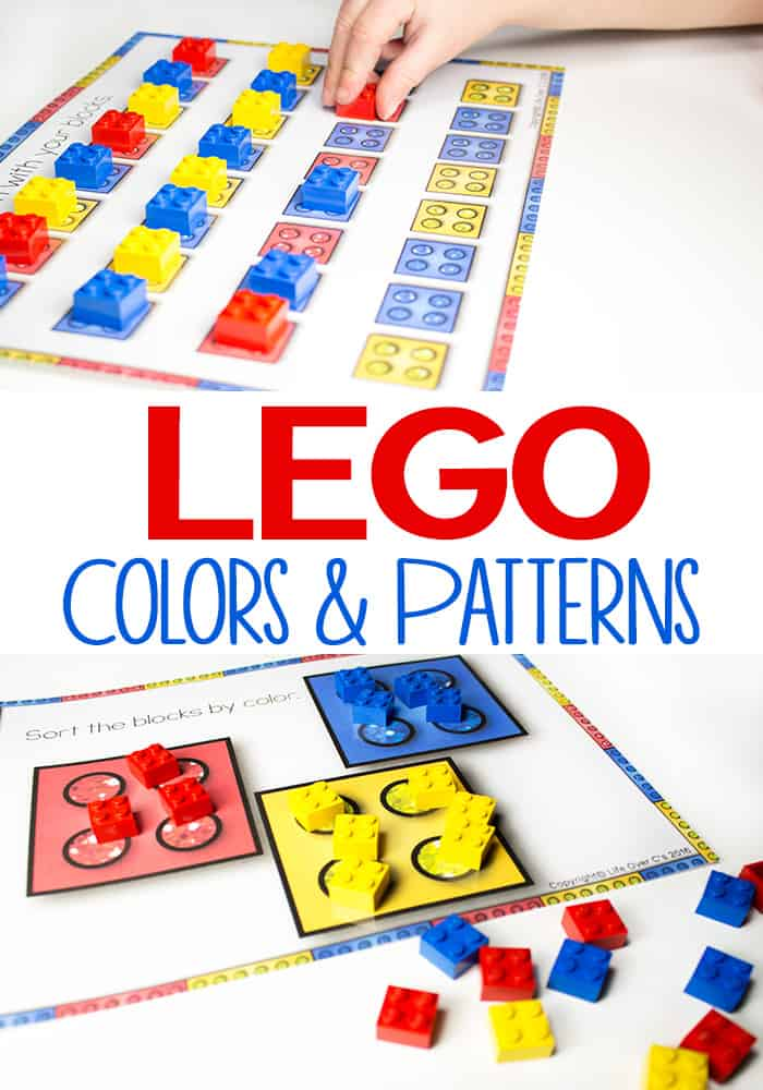 Lego Printables For Colors And Patterns I Can Teach My