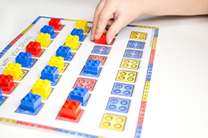 LEGO Printables for Colors and Patterns - I Can Teach My Child!