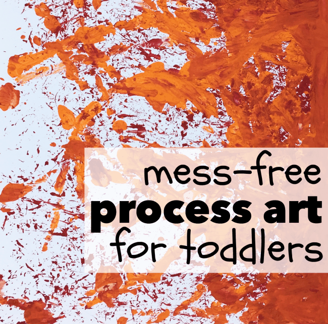 Mess-Free Process Art for Toddlers