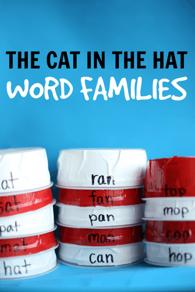 The Cat in the Hat Word Families