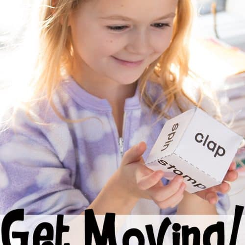 Get Moving Gross-Motor Dice