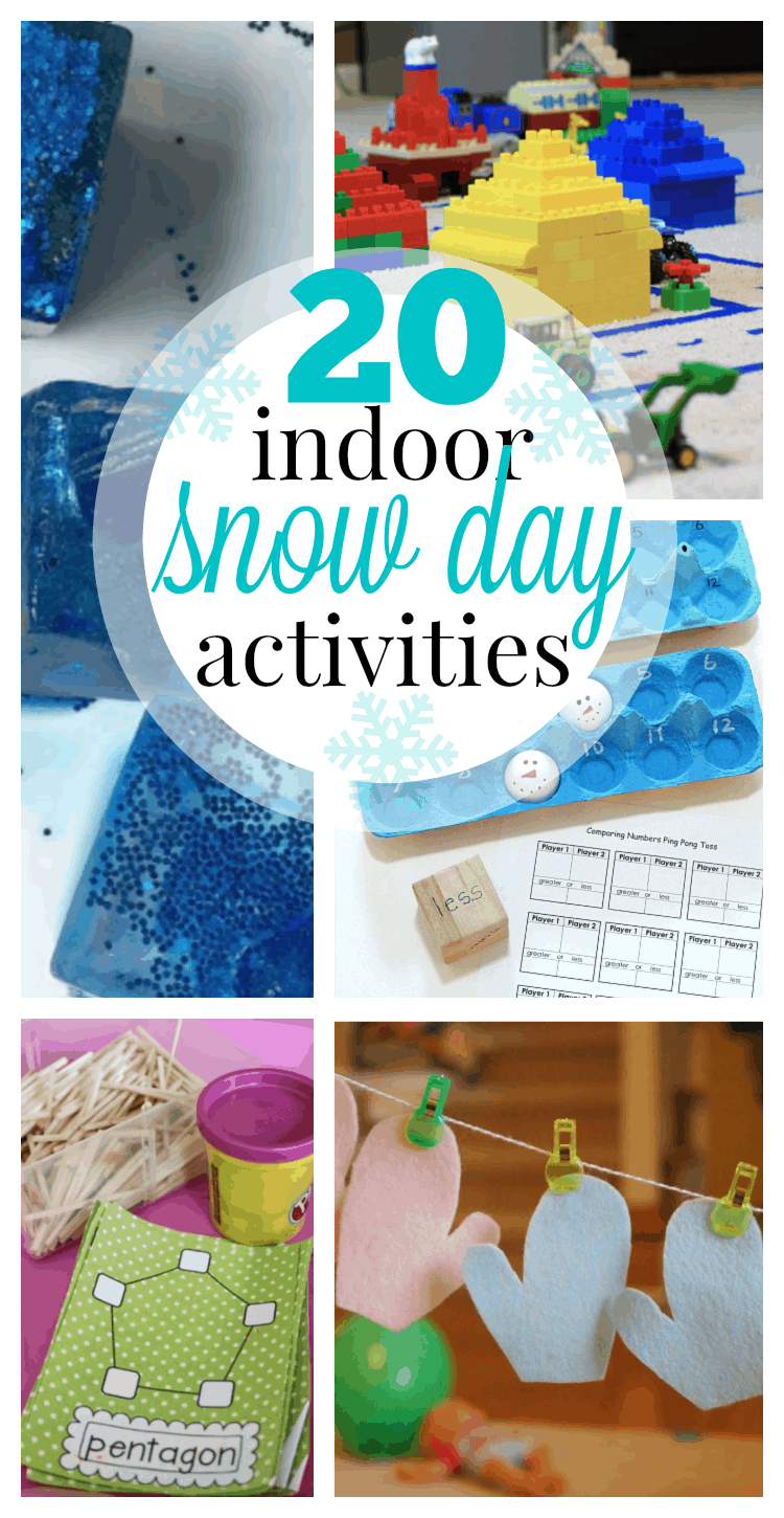 20 Fun Indoor Snow Day Activities I Can Teach My Child