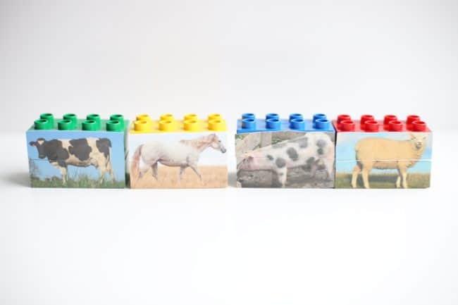 Animal Mix-Up LEGOs