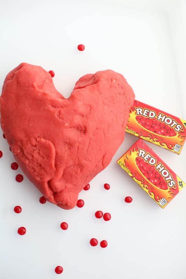 Red Hots Playdough