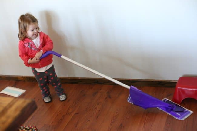 Say Yes to the Mess with Swiffer