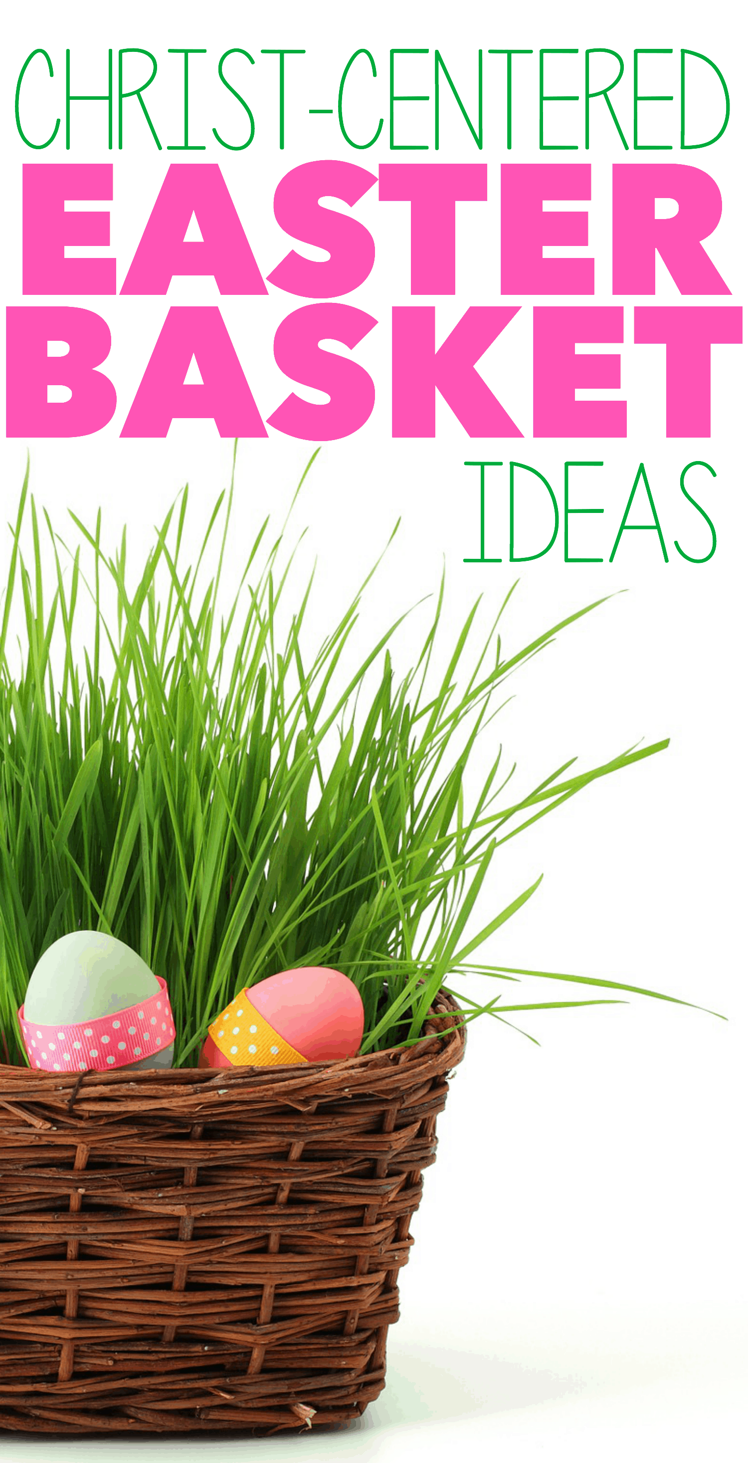 Christ centered easter basket ideas i can teach my child as christians easter is a time when we celebrate the resurrection of jesus christ and i always want this to be our focus which we do throughout the week negle Image collections