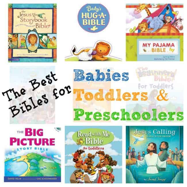 Best Children's Bibles for Babies To Preschoolers 2019 - I Can Teach
