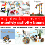 My Absolute Favorite Monthly Activity Boxes for Kids