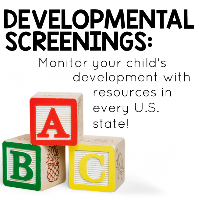 Developmental Screenings
