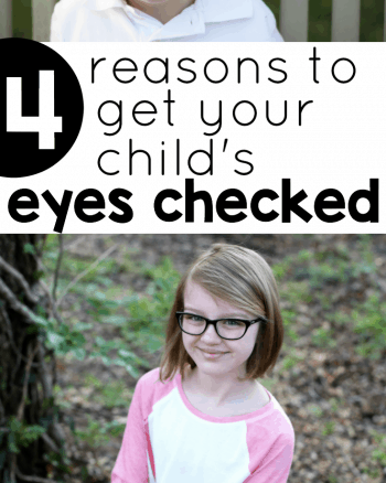 Four reasons to get your child's eyes checked