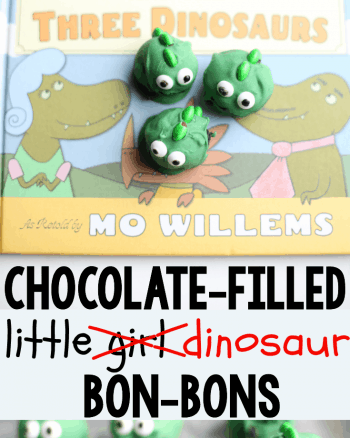 Goldilocks and the Three Dinosaurs Bon-Bons