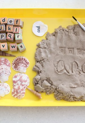 Sight Words in the Sand