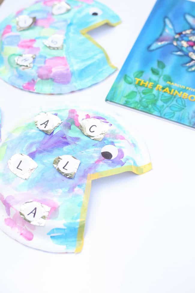 Rainbow Fish Alphabet Matching