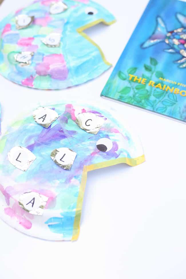 Rainbow Fish Alphabet Matching Craft I Can Teach My Child