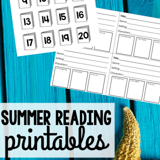 Summer Reading Printables