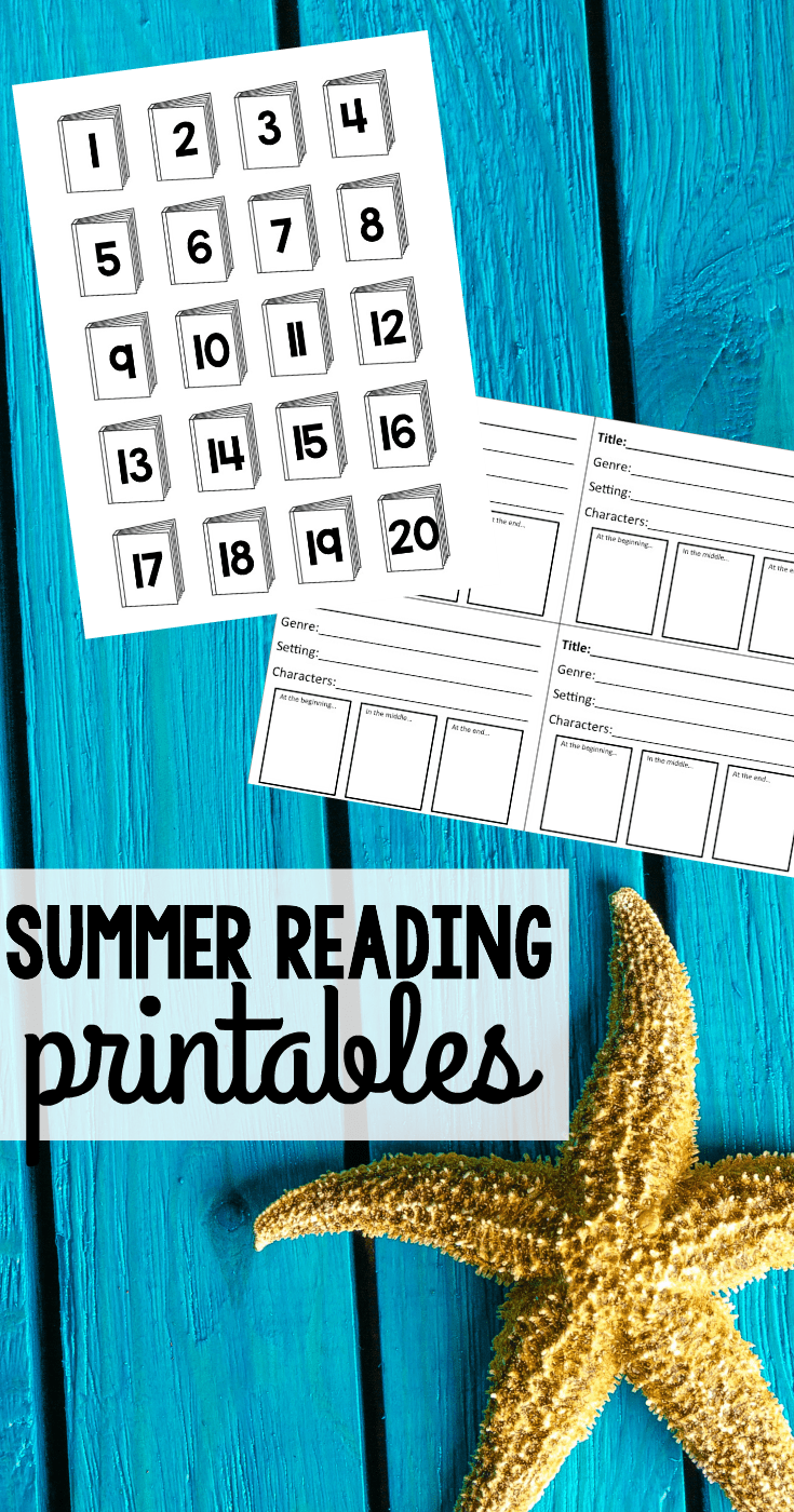 Free Summer Reading Printables - I Can Teach My Child!