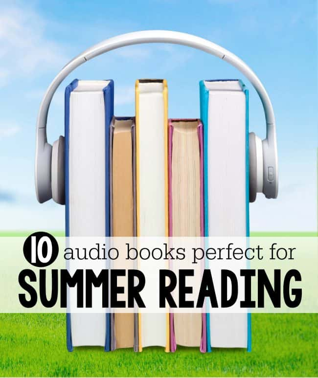 10 Audio Books Perfect for Summer Reading