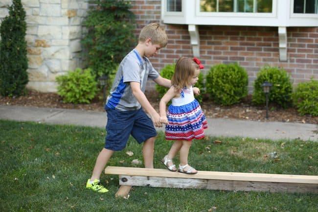 Toddler Balance Beam