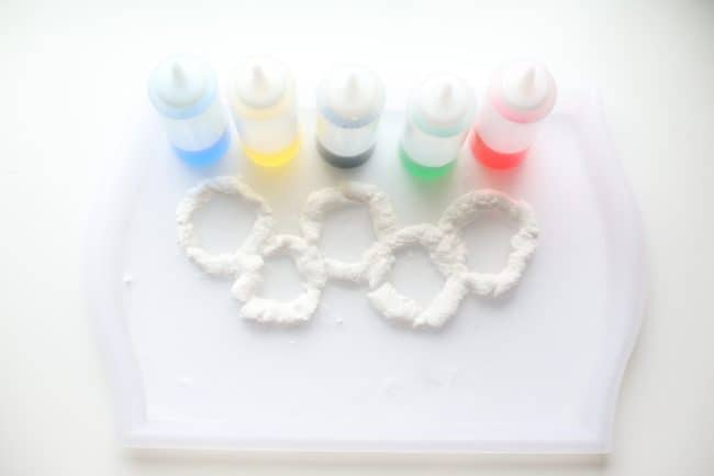 Fizzy Olympic Rings