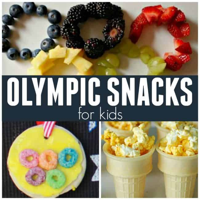 Olympic Snacks for Kids