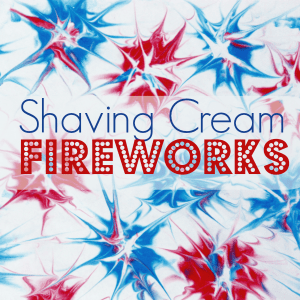 Shaving Cream Fireworks