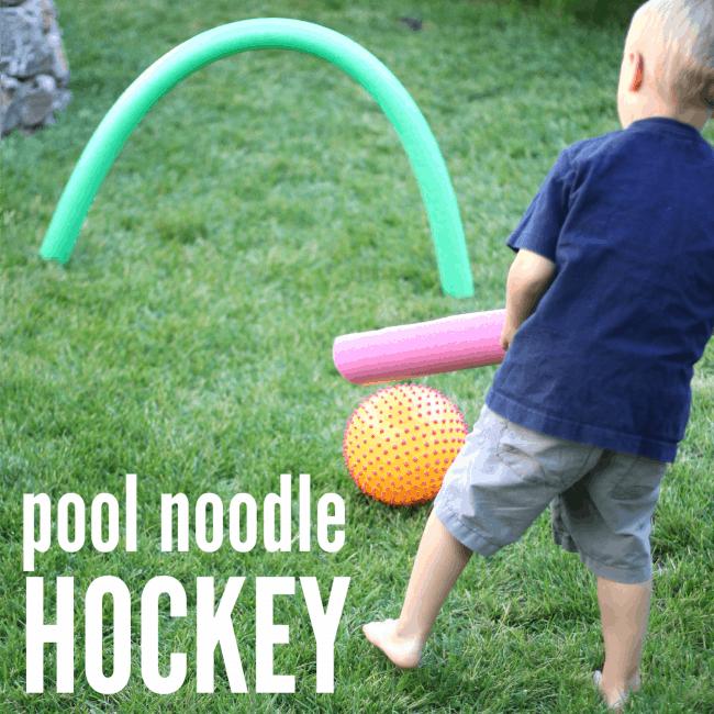 Pool Noodle Field Hockey