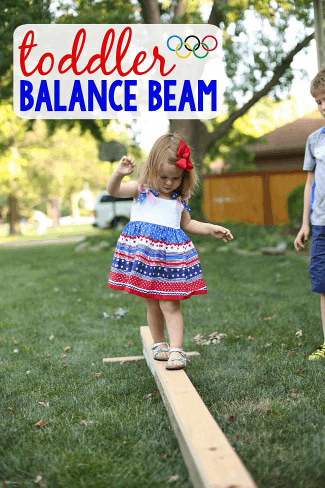 Toddler Balance Beam I Can Teach My Child