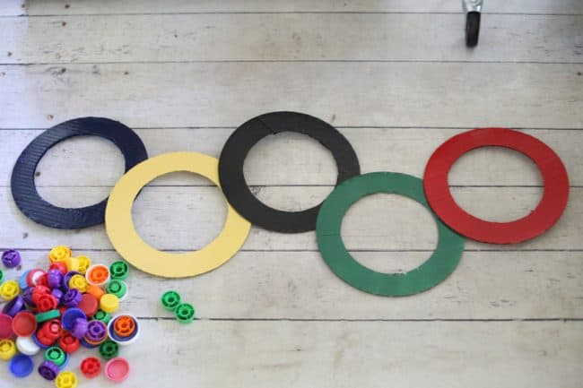 Olympic Rings Cap Sorting