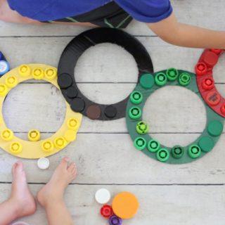 Olympic Rings Cap Sorting