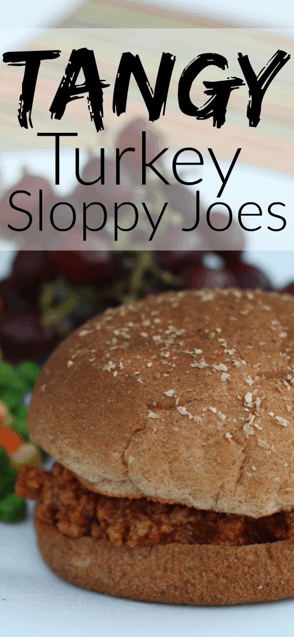 Tangy Turkey Sloppy Joes: A perfectly simple cool weather meal!