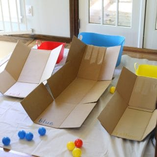 Color Skee Ball for Toddlers and Preschoolers