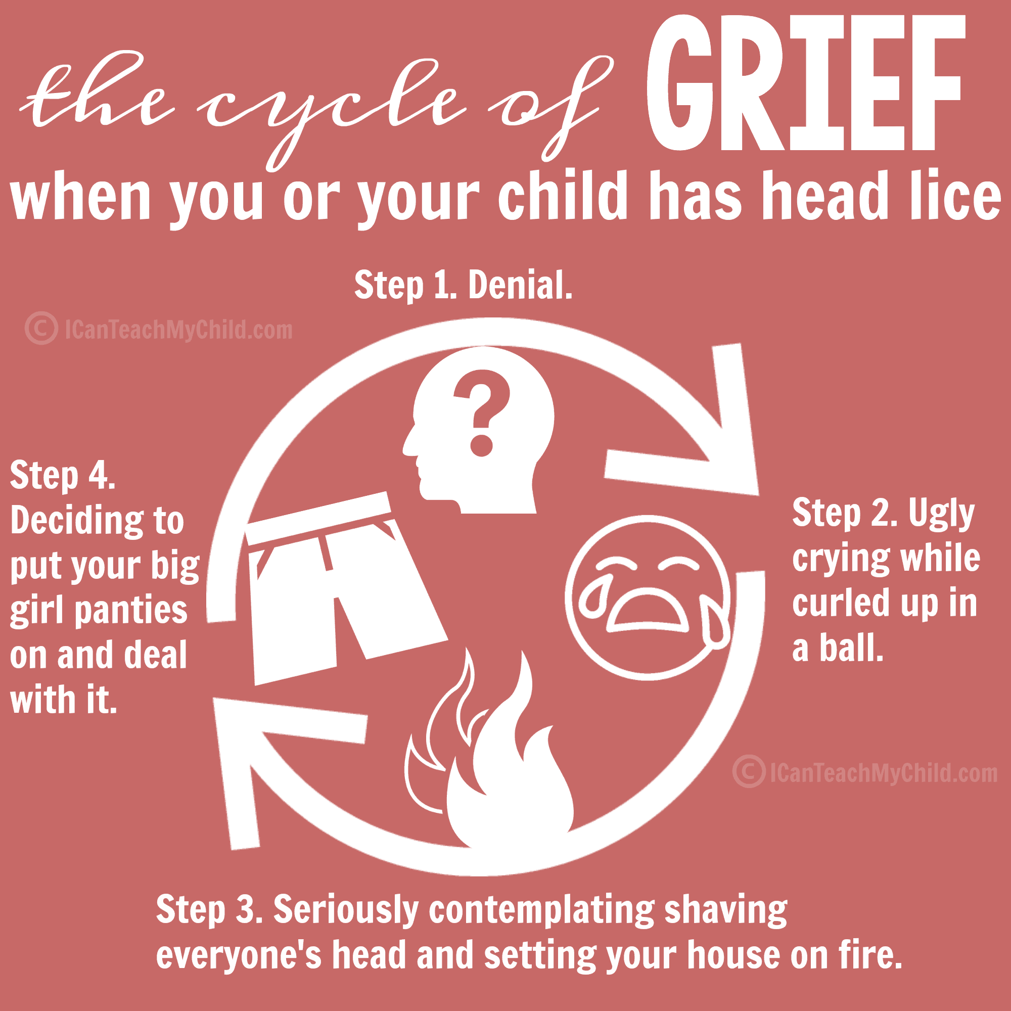 How To Get Rid Of Head Lice I Can Teach My Child