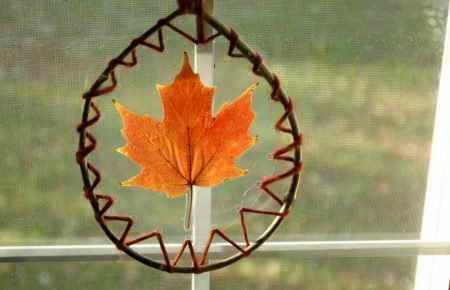 Laced Leaf Suncatcher