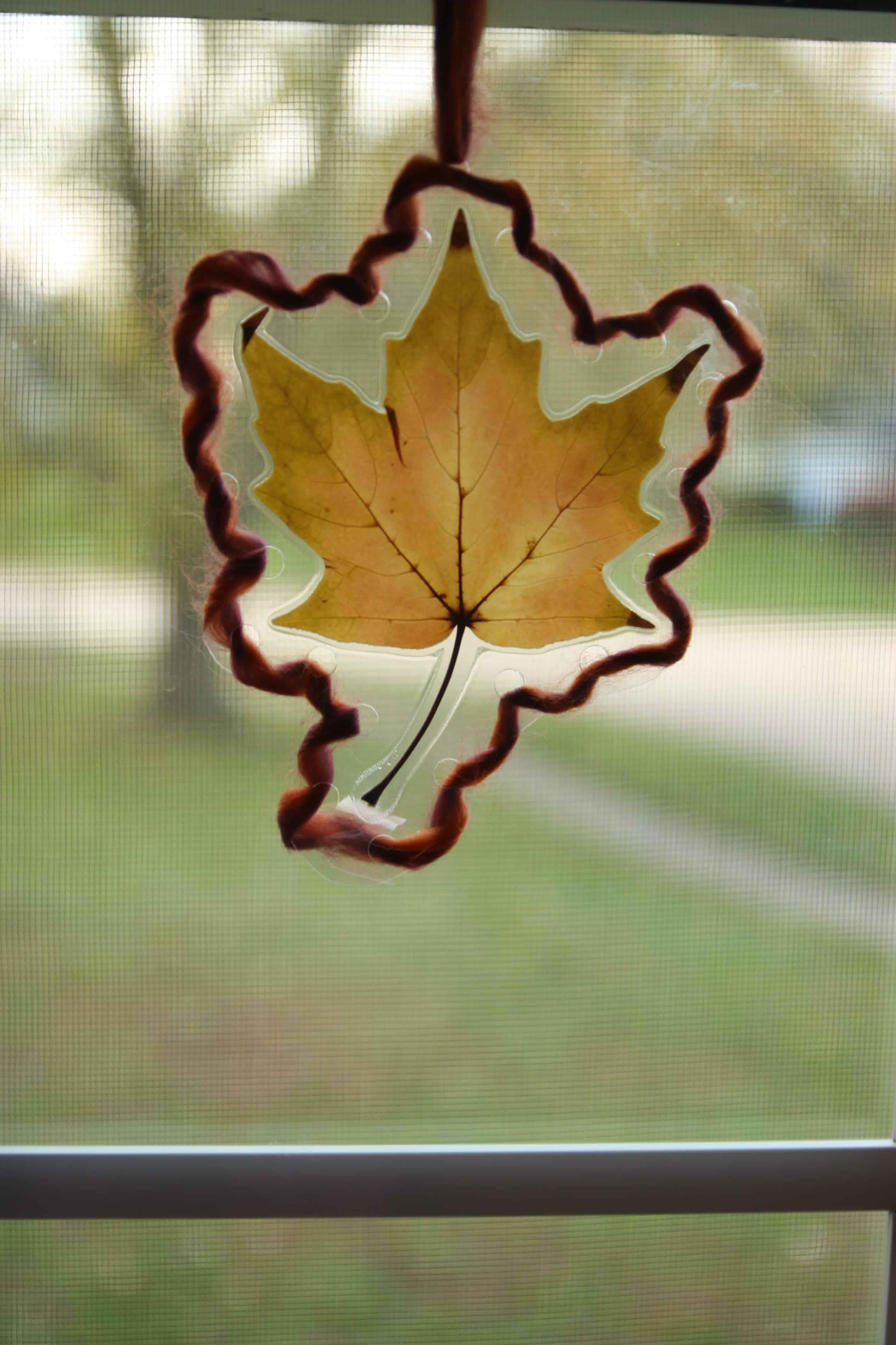 Toddler Leaf Lacing - I Can Teach My Child!
