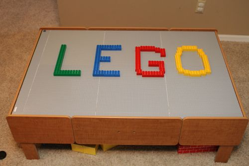 How to Build Your Own LEGO Table