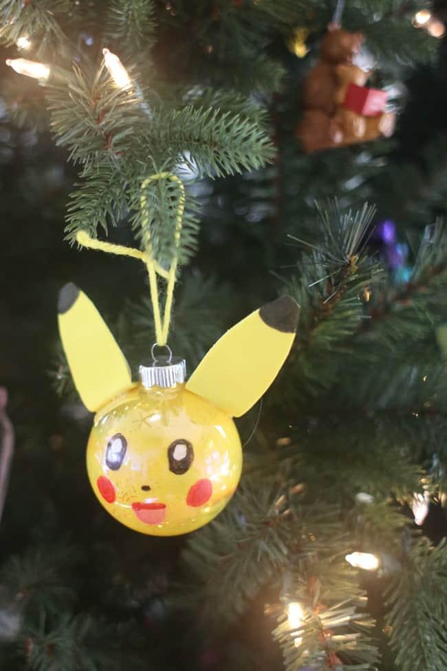 DIY Pokemon Ornament - I Can Teach My Child!