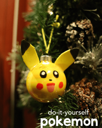 DIY Pokemon Ornament