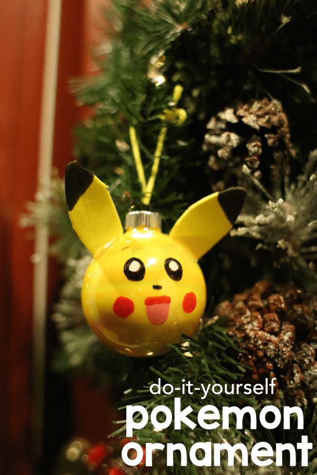 DIY Pokemon Ornament