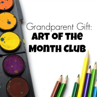 Grandparent Gift: Art of the Month Club