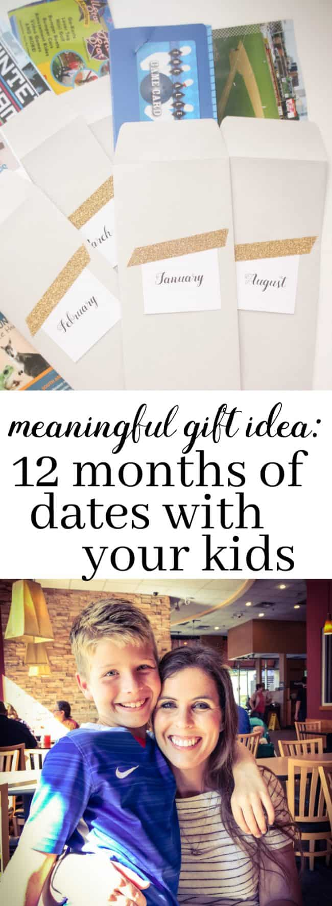 Meaningful Gift Idea_ 12 Months of Dates with Your Kids